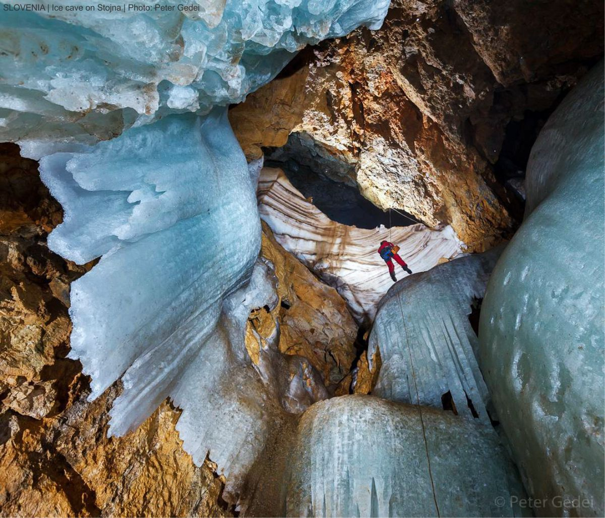 2016-11-05 SLOVENIA - Ice cave on Stojna - Peter Gedei
